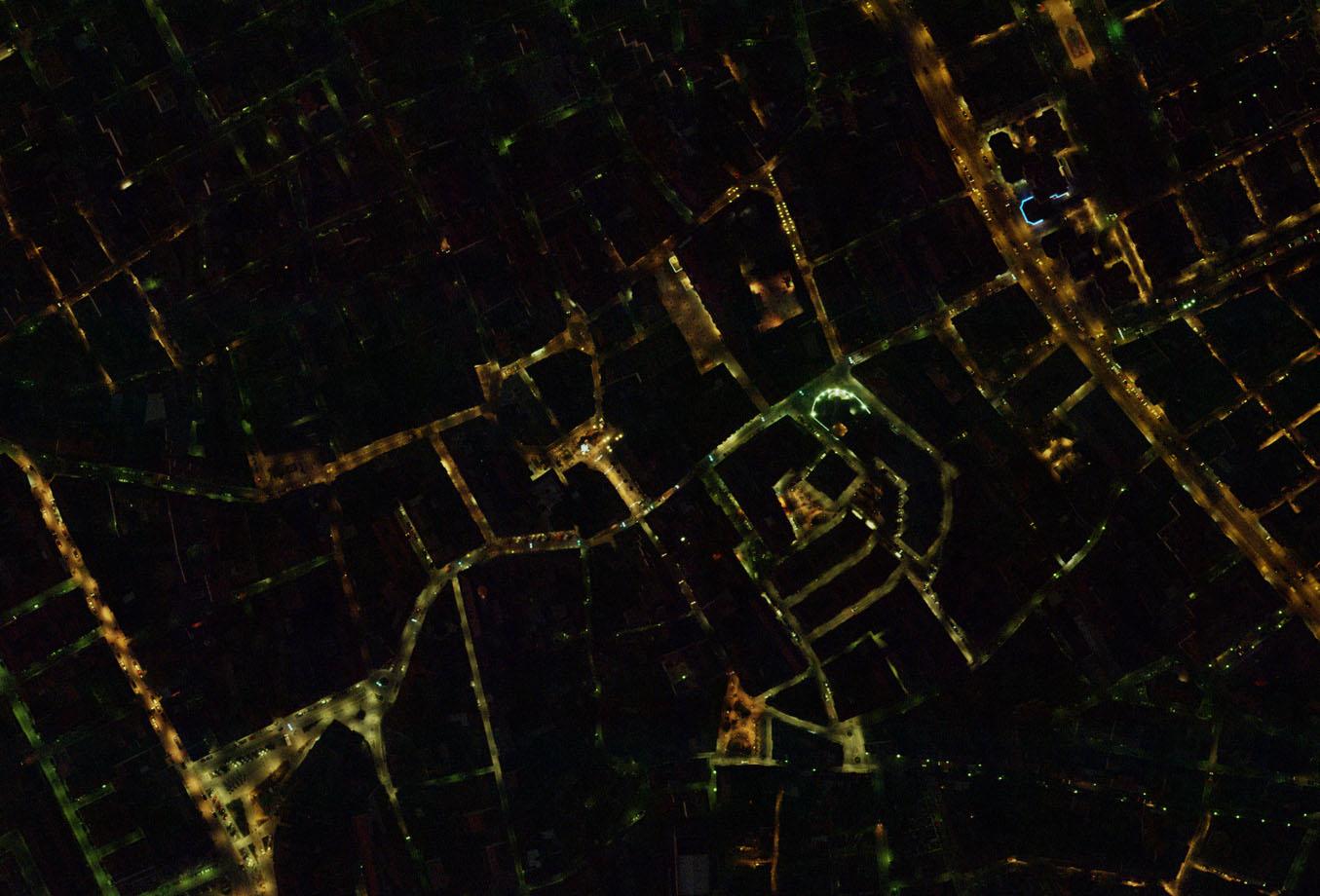 Ortofoto Nocturna: Eficiencia Energética