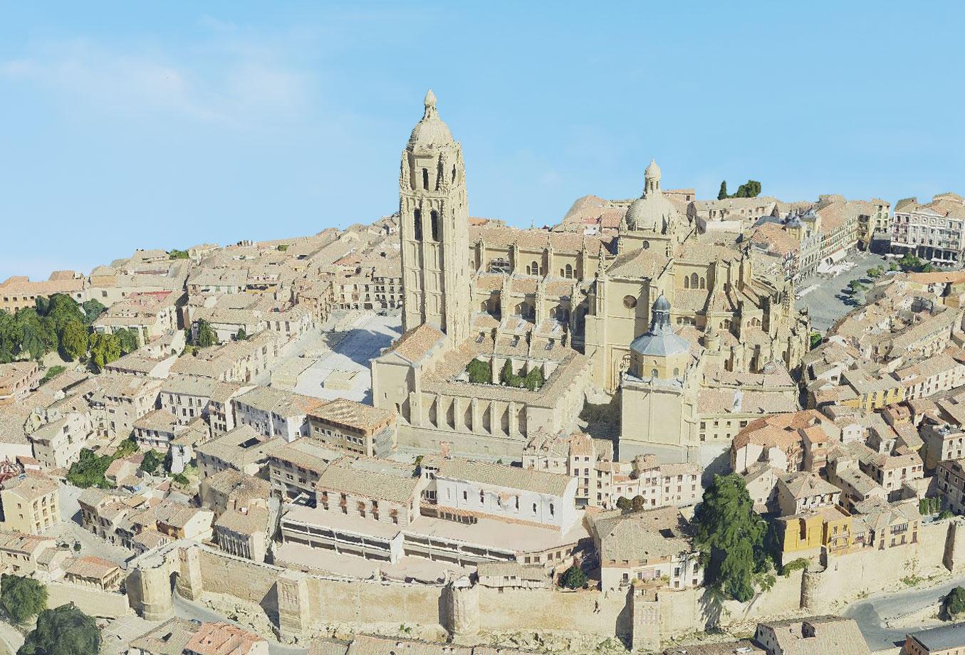 Escenarios 3D Segovia