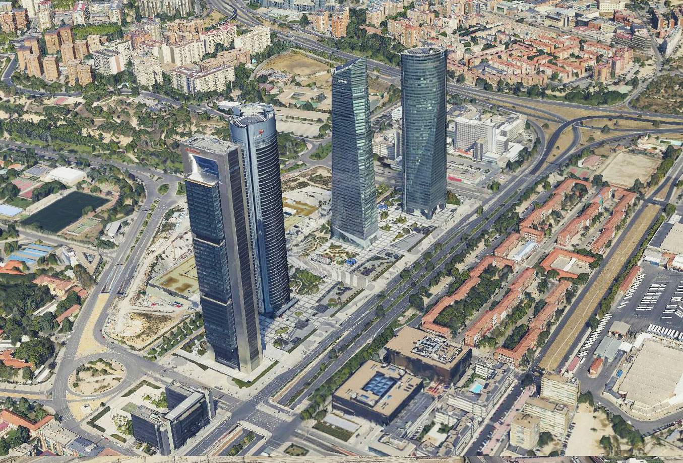 Escenarios 3D Madrid